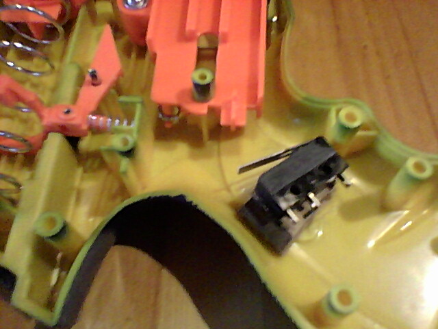 Picture of Wire a Switch to the Trigger of the Nerf Gun