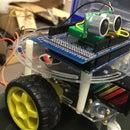 Arduino 声纳 避障 小车
