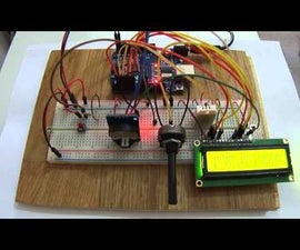 Thermohygrometer with clock and LCD display on Arduino UNO