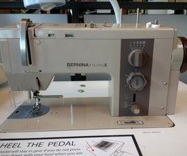 Pier 9 Guides: Bernina 950 Semi Industrial Sewing Machine BASIC USE