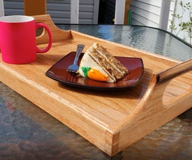 How to Make a Serving Tray Out of Wood