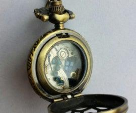 Tardis Pocket Watch: A Mini Holiday Story
