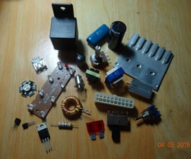 Electronics Components Salvage