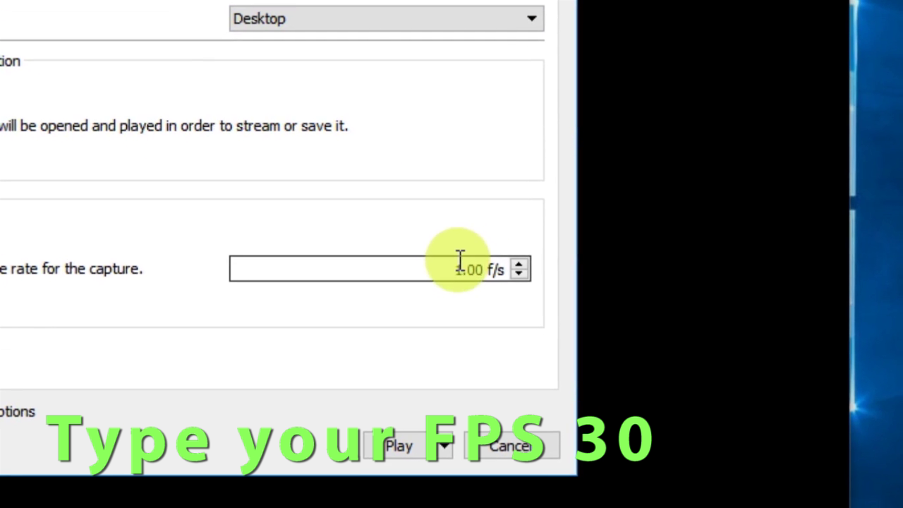 Picture of 5:: Select Fps