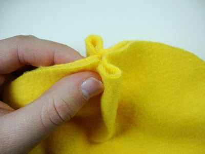 Sewing the Hat Together