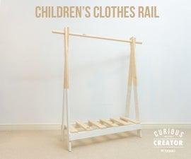 Children's Clothes Rail