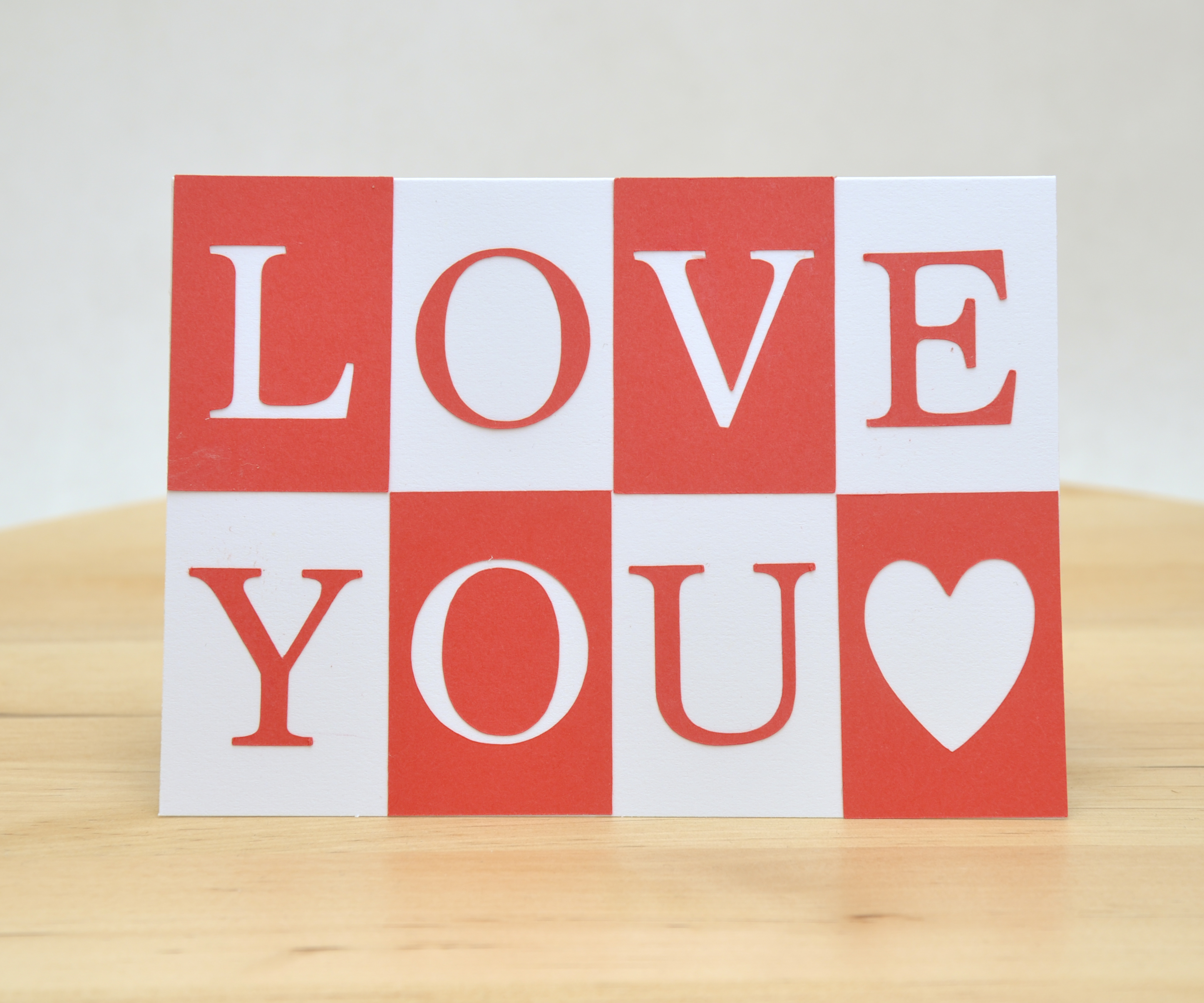 Picture of LOVE YOU Card