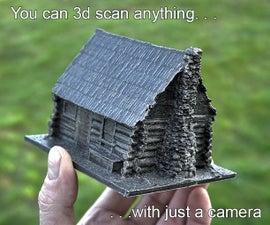 用相机三维扫描任何东西