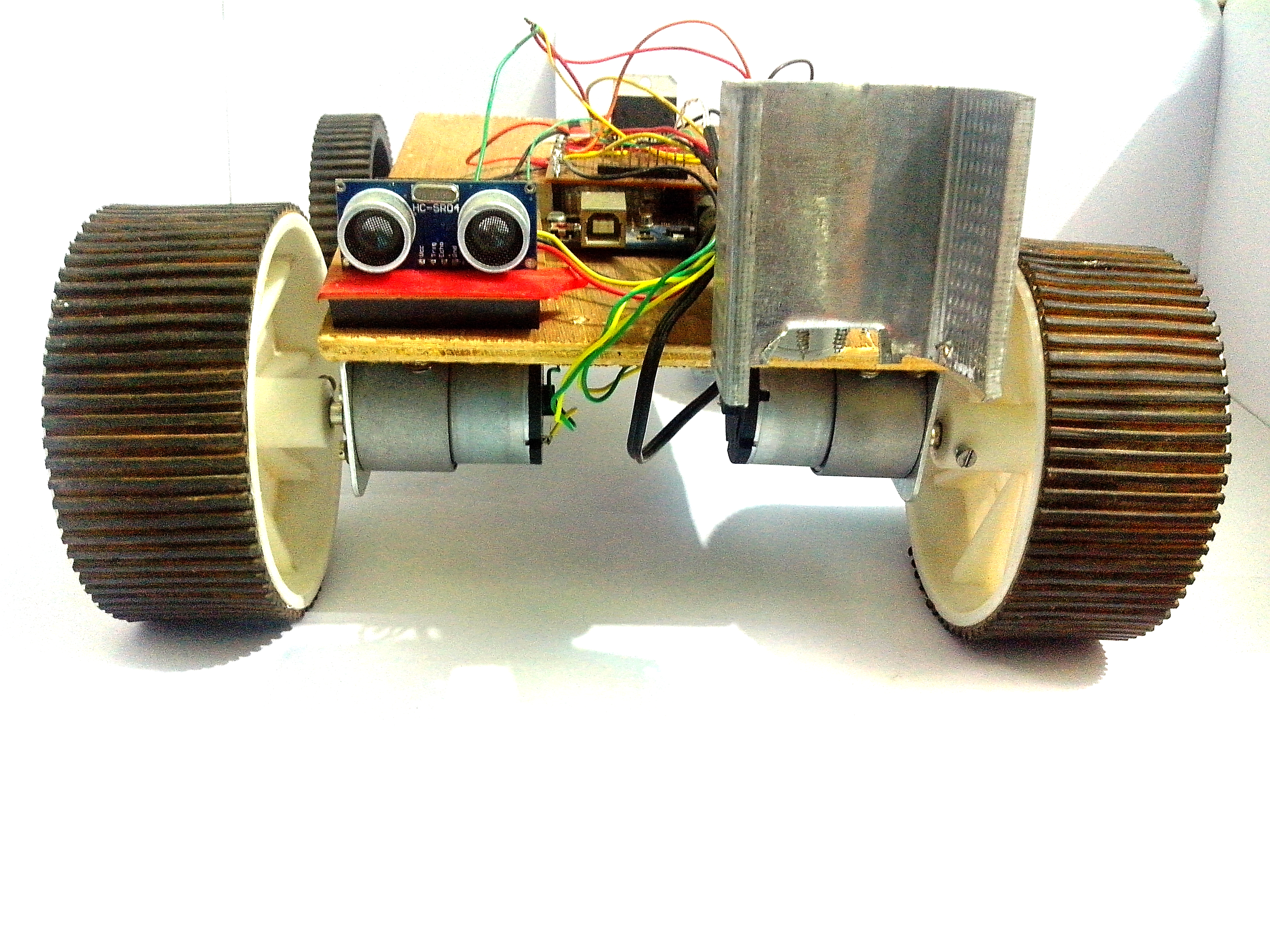 Picture of Arduino Robot V2 (Fast) Also Voice Controlled
