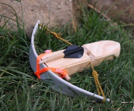 Mini PVC Crossbow