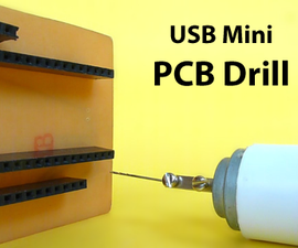 USB Mini PCB Drill