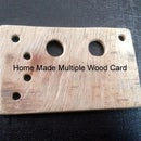 Wooden Card Multi Support