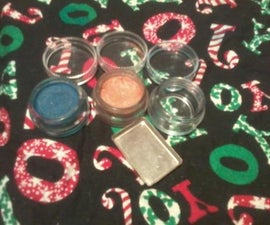 Pressing Powdered Pigments and Loose and Mineral Eye Shadows
