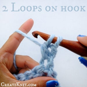You Will Now Have 2 Loops Left on Your Hook.