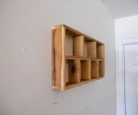 Make a Rustic Shadow Box, pallet lumber