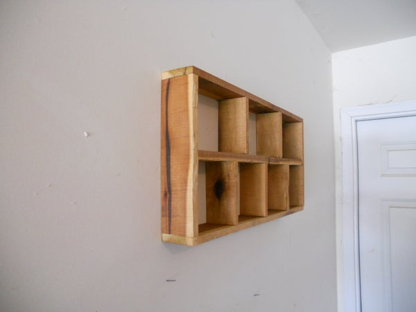 Make a Rustic Shadow Box, Pallet Lumber