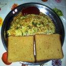 Instant Noodles Omelette