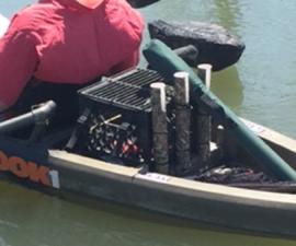 Kayak Fishing Milkcrate