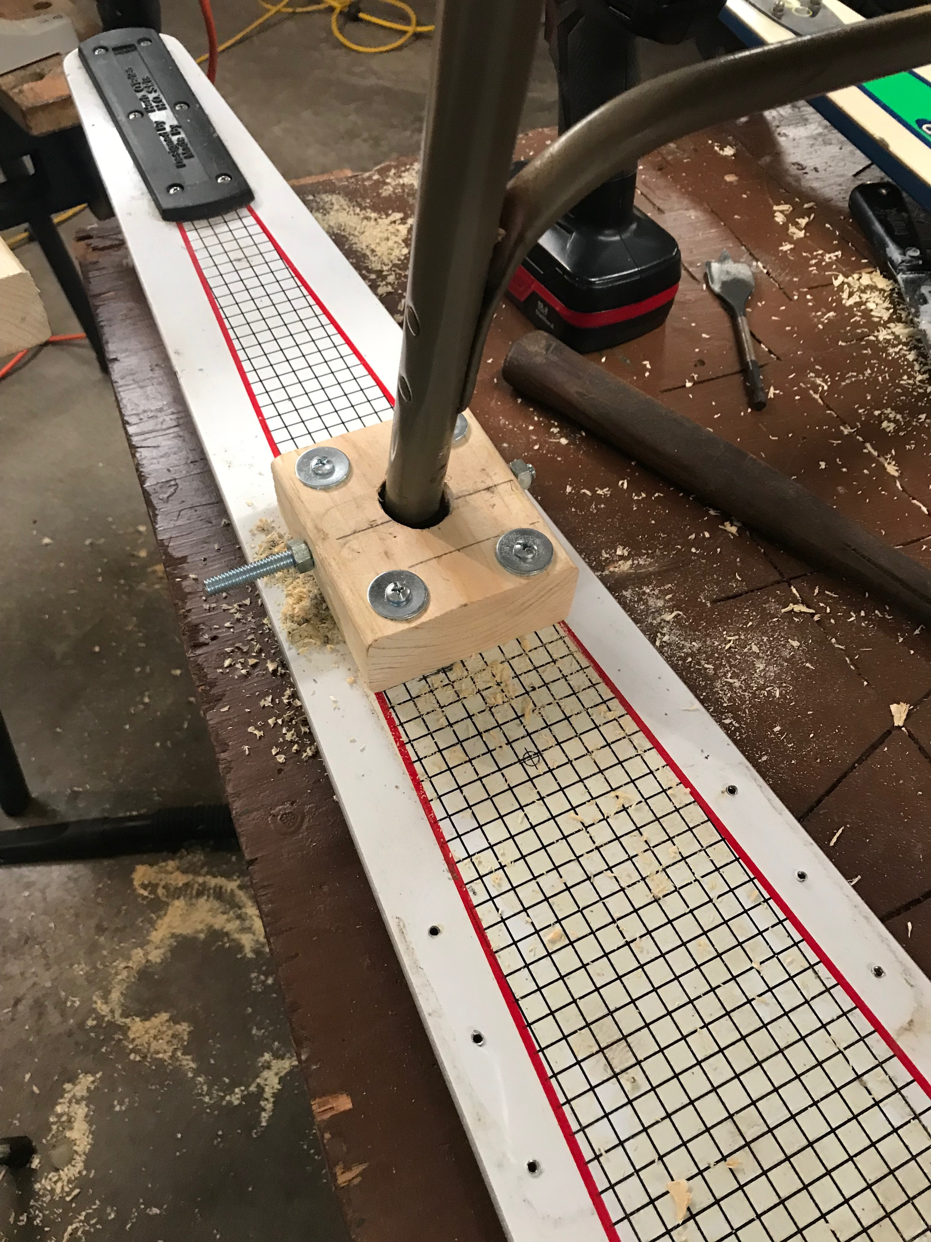 Picture of Attach Chair to Skis