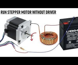 Wow !! Run Stepper Motor Without a Driver || New Idea 2018