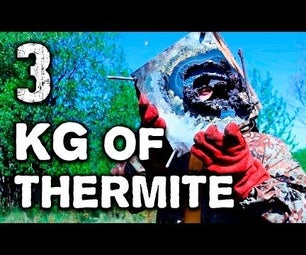 How to Make THERMITE Bomb From TRASH! 3 KG Termite Mixture.