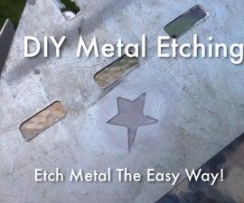 DIY Metal Etching