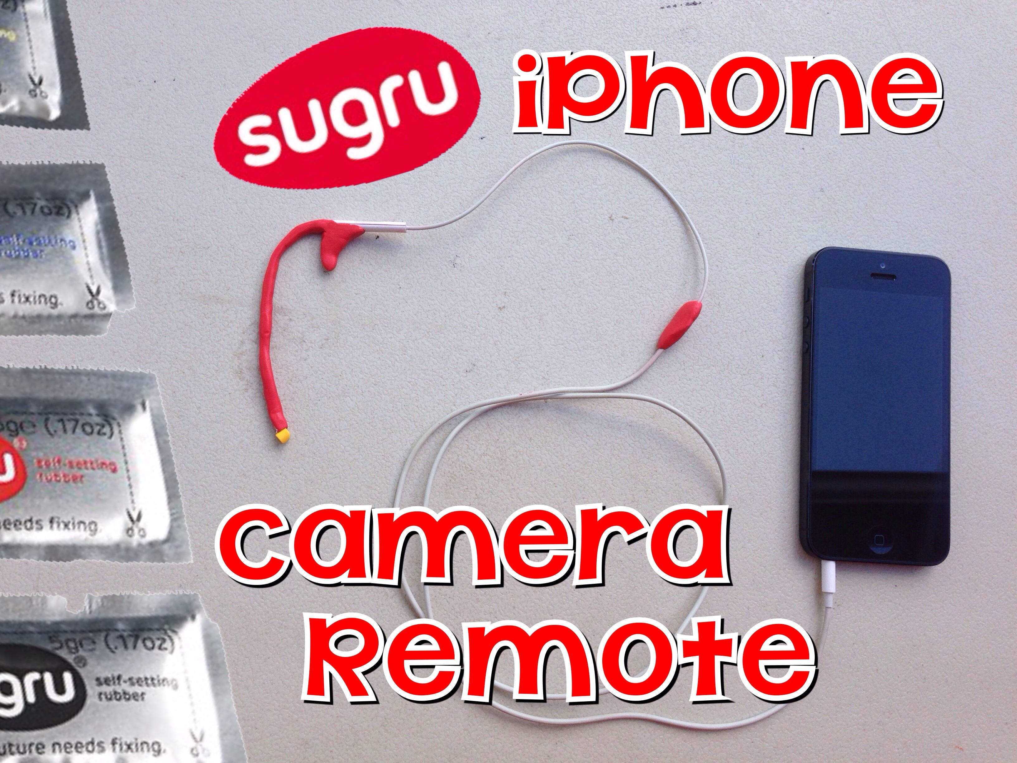 Picture of Sugru IPhone Camera Remote With Lego Hand