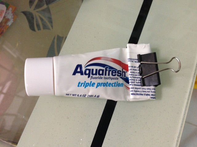 Picture of Tp Save Your Toothpaste and Your Time