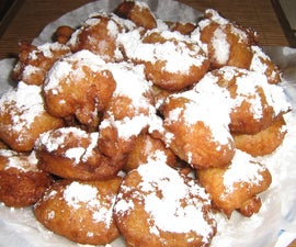 New Orleans Rice Calas/ Beginets-  Dessert Treats Anytime