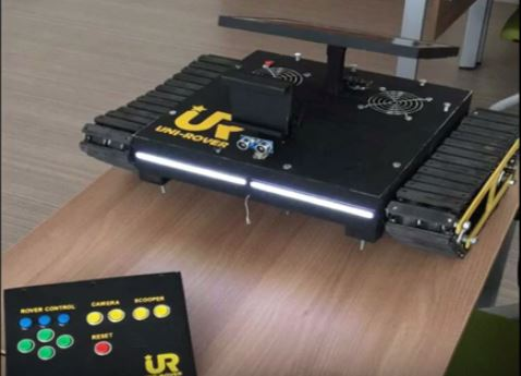 Picture of Uni-Rover   Skype Controlled Telepresence Robot Tank