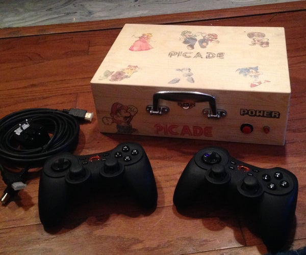 From a Wooden Box to a Retro Console