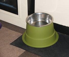 Plantpot dog dishes