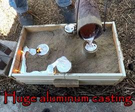 Huge Aluminum Casting. Hanger