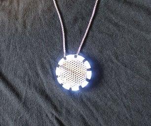 Iron Man Arc Reactor Necklace