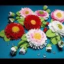 Ribbon Flowers: Cheerful Daisie/Part 1
