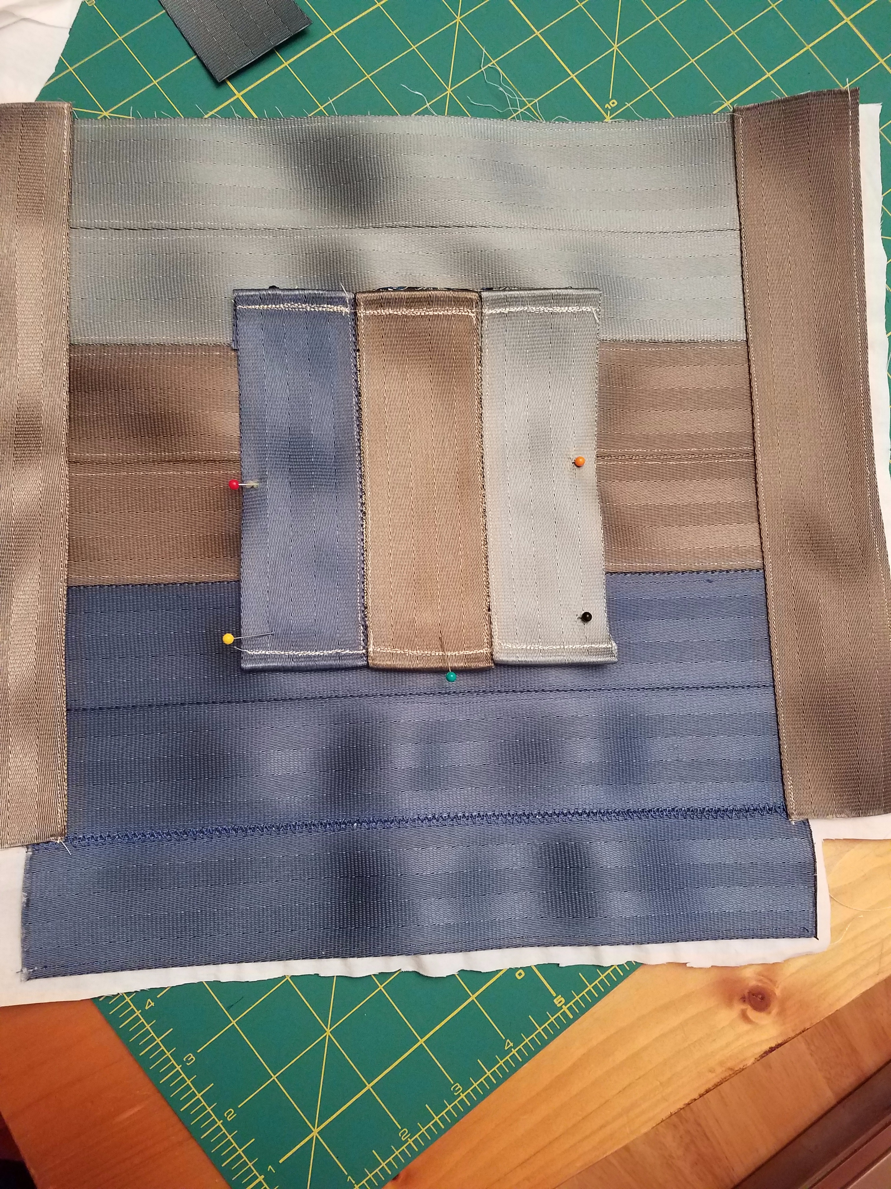 Picture of Sew Pocket to Back of Bag
