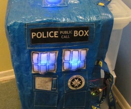 TARDIS IKEA SHOPPING BAG