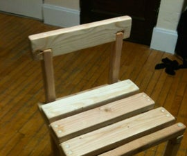 Nail-less Wooden chair
