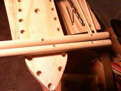 Drill the Mast Holes and Attach to the Deck