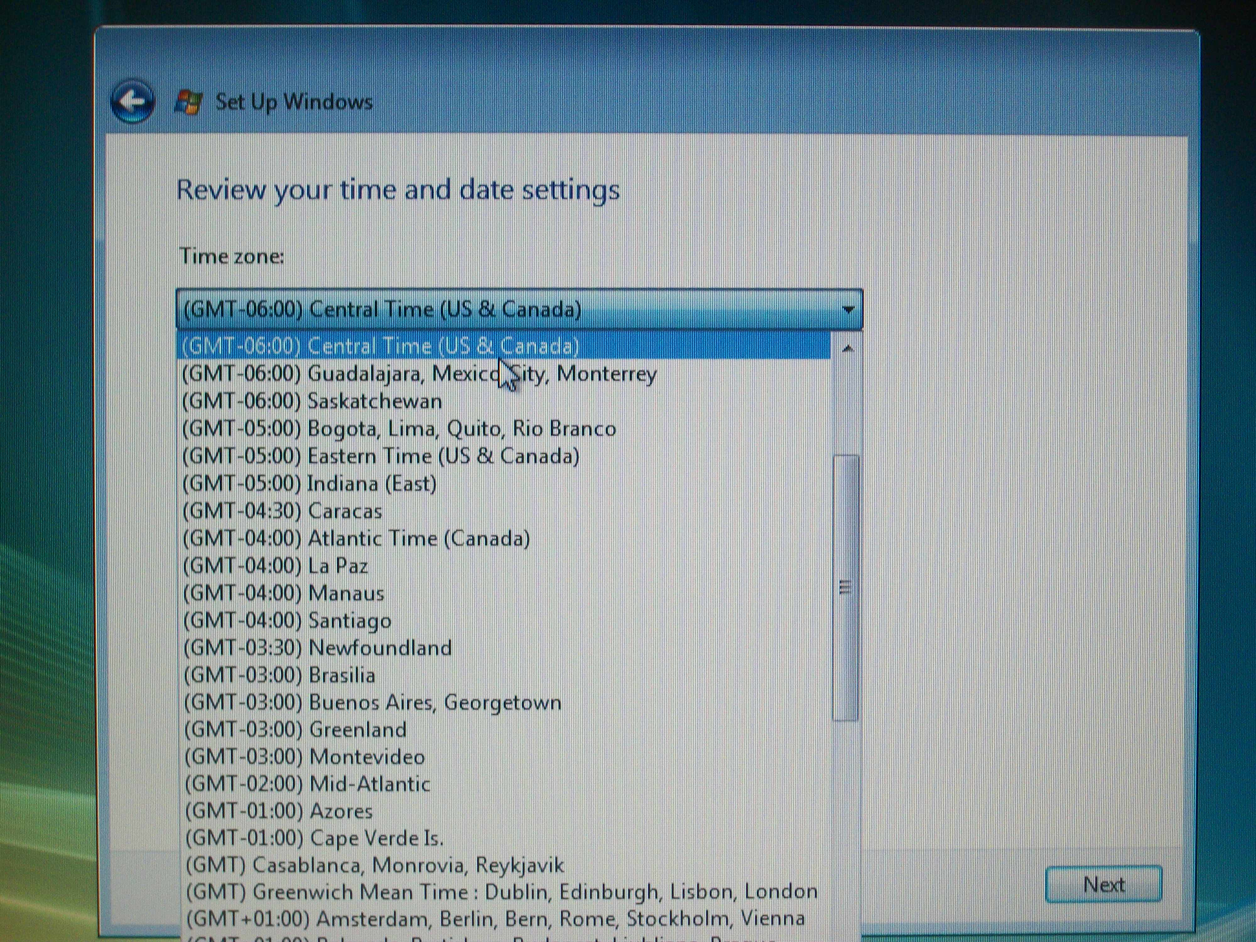 Picture of Date and Time