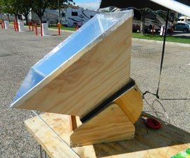 """""""The Solar Baby"""" Solar Oven, cooker."""