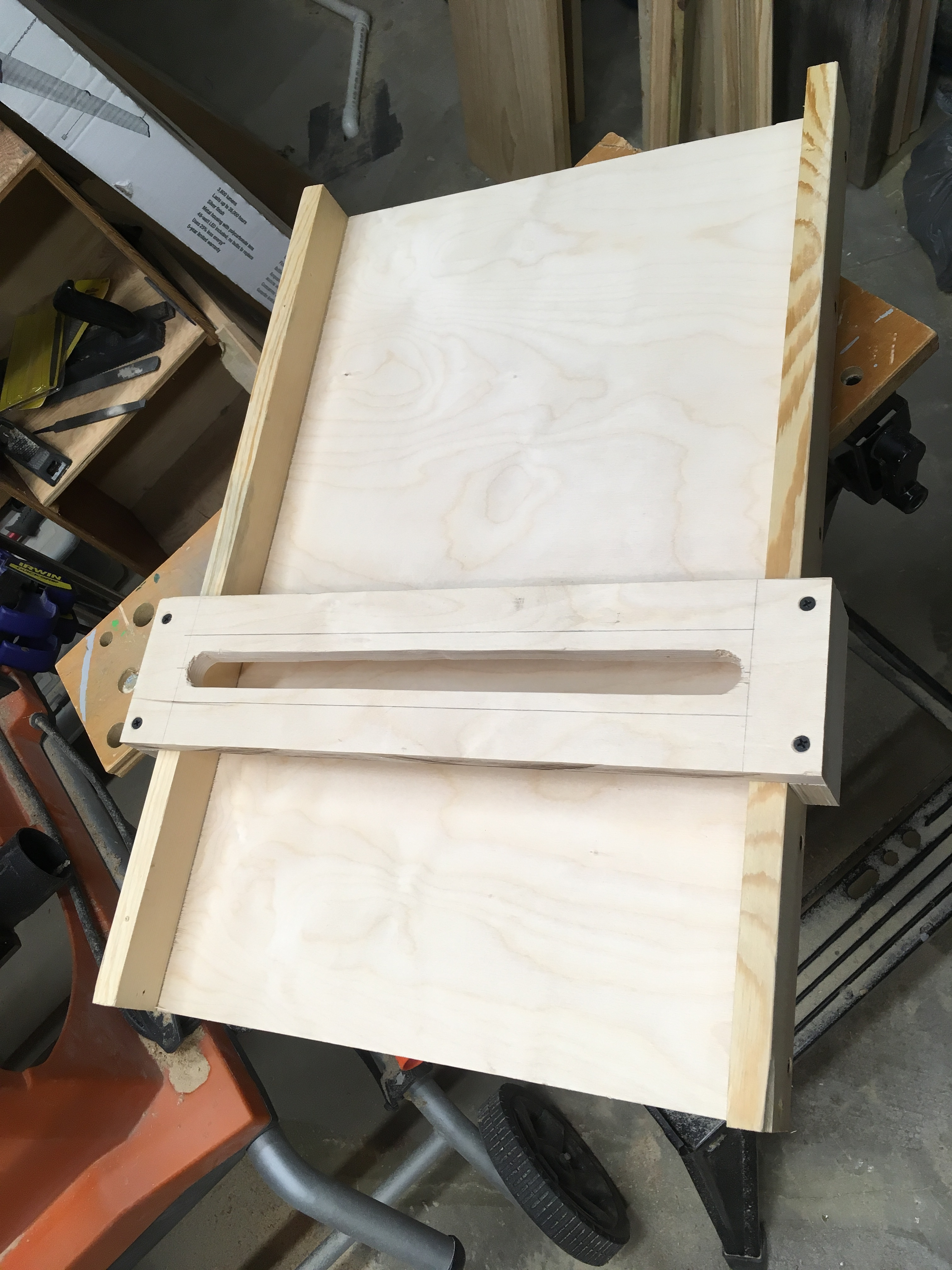 Picture of Router Planing Sled