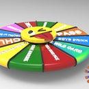 The 2in1 Fidget & Wheel Drinking Game Spinner