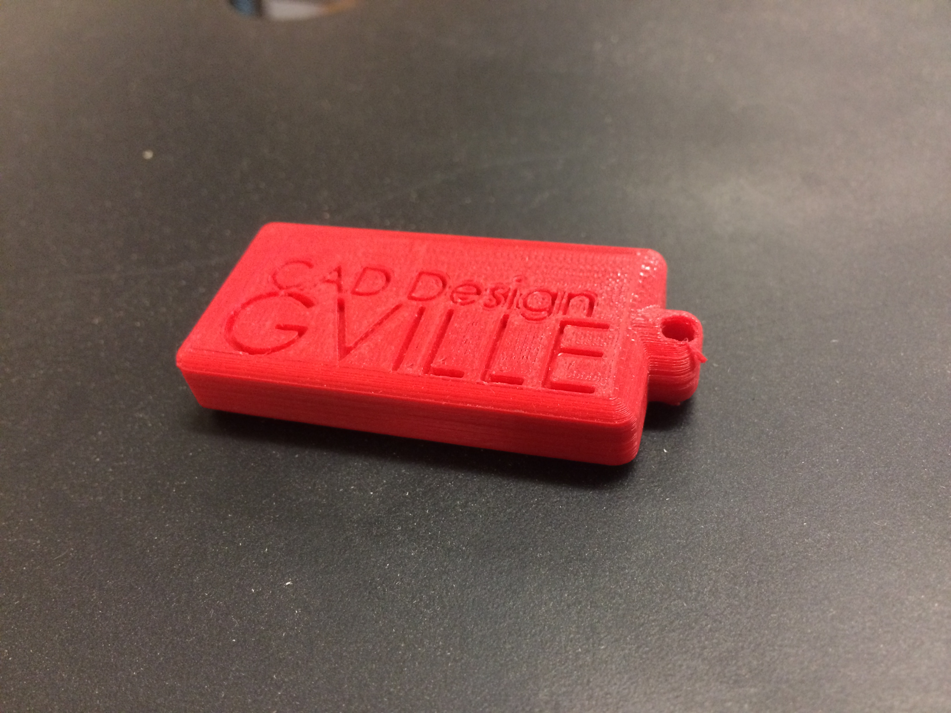 Picture of GHS CAD Keychain Tutorial