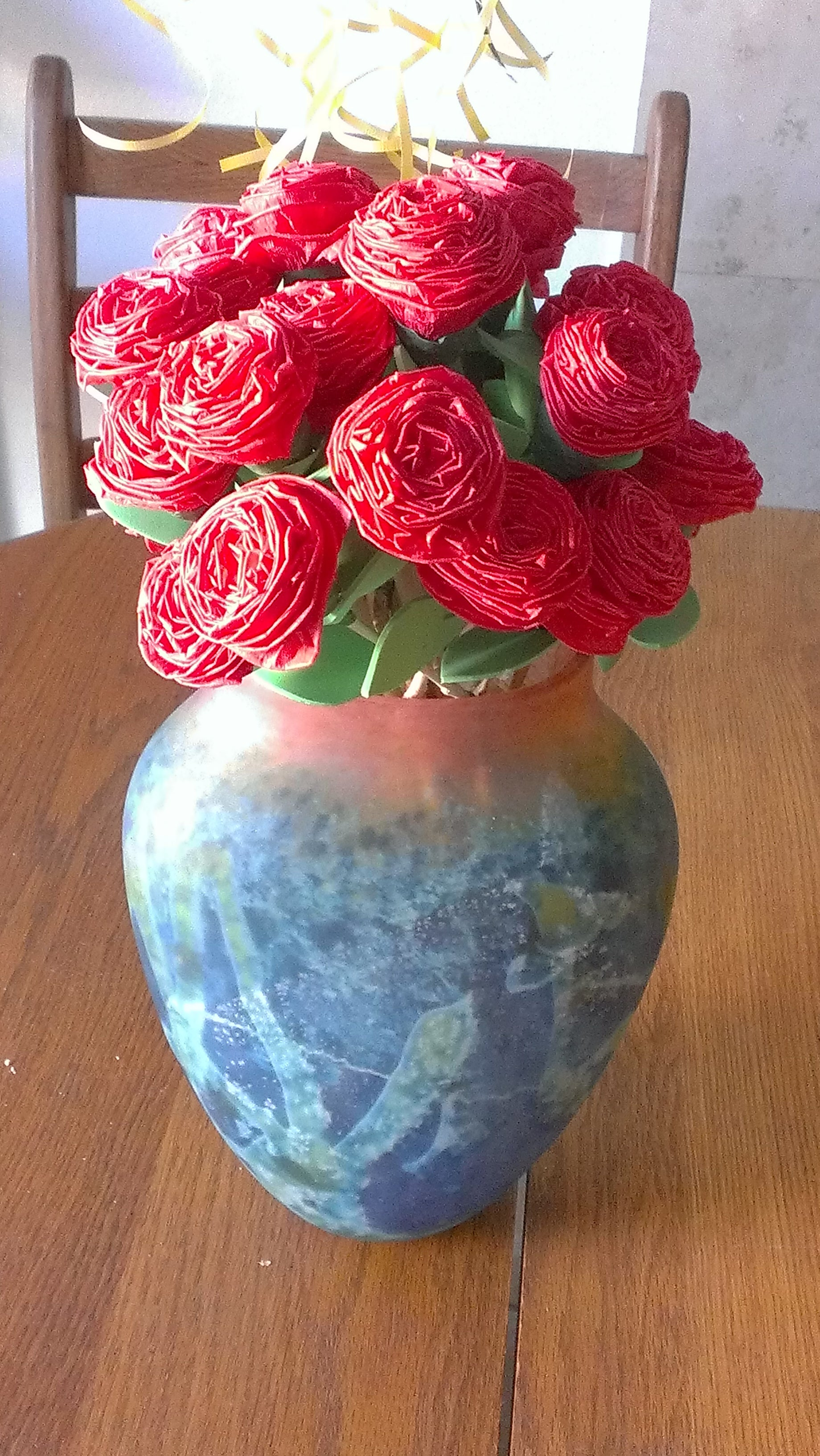 Easy Crepe Paper Flowers 6 Steps