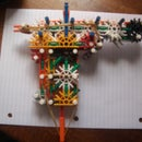 Knex easy to make and powerful pistol