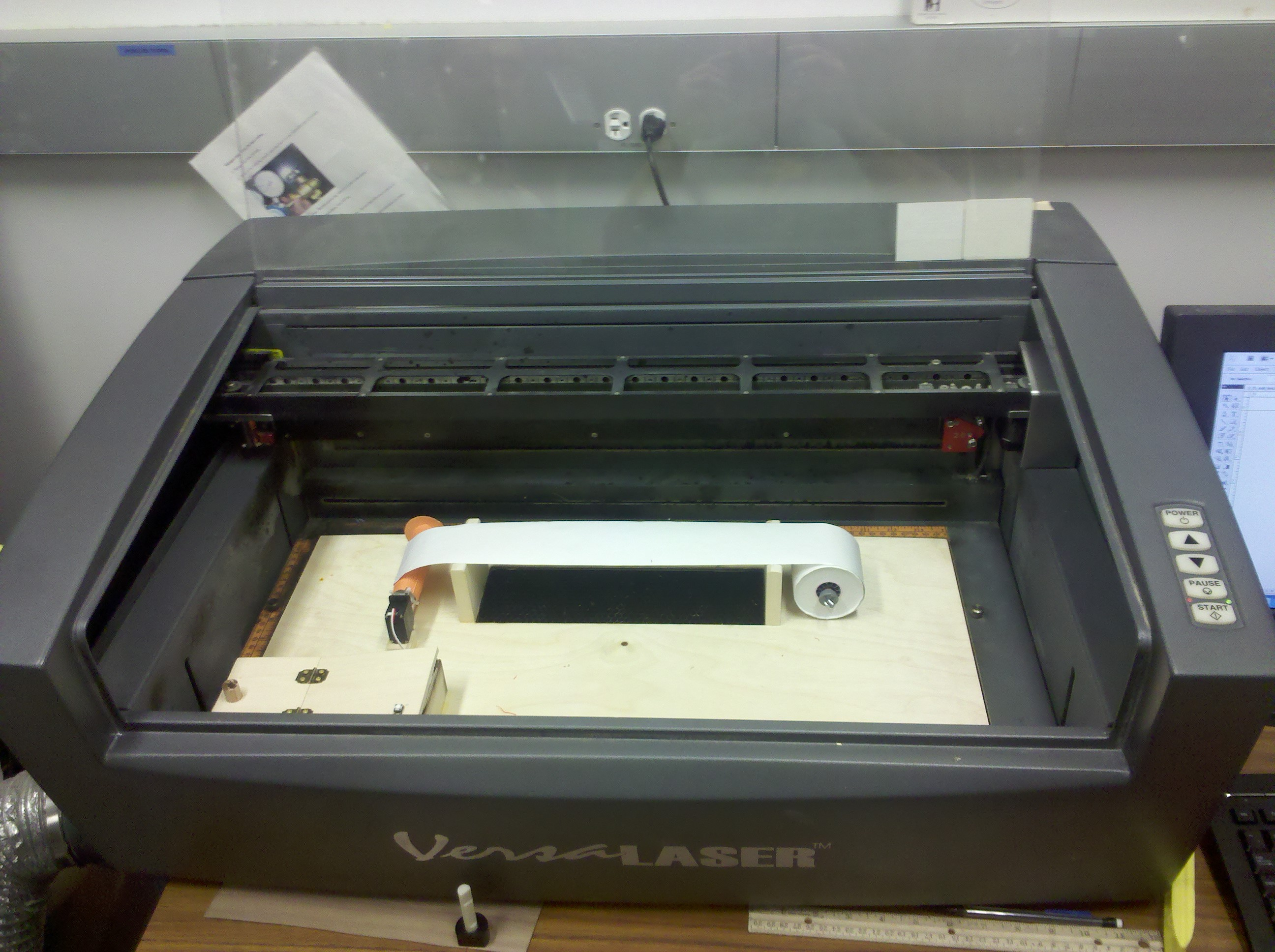 Picture of Scrollable Laser Cutting Addition