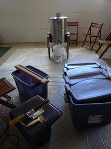 The Equipment - Garage Set Up