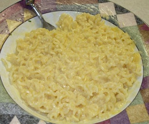 Mac and Cheese, Top Ramen Style!