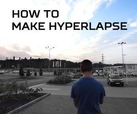 How to make hyperlapse